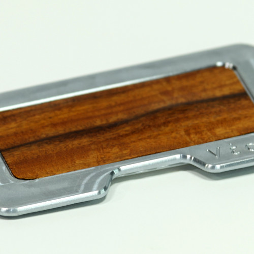 LaJolla Woody Wallet Single Plate