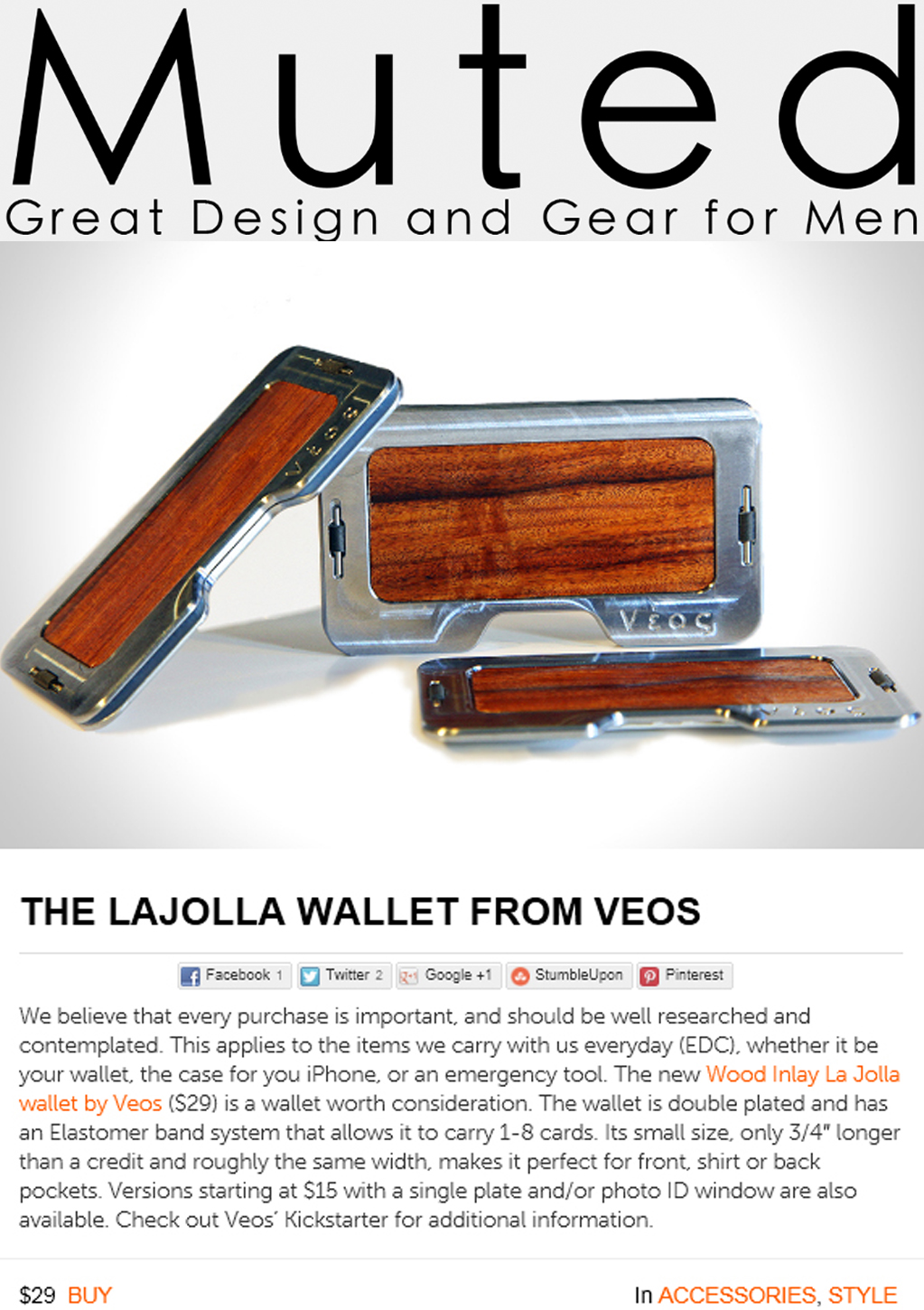 LaJolla Wallets at Muted.com